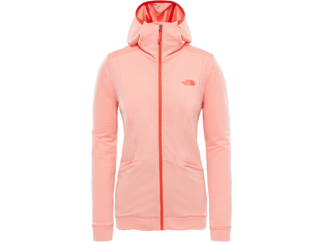 The North Face Hikesteller Hoodie Dam desert flower orange